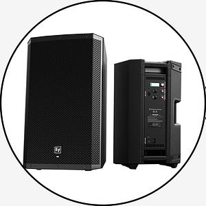 EV ZLX Powered Speaker