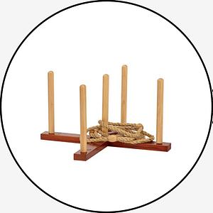 Mega Wooden Quoits